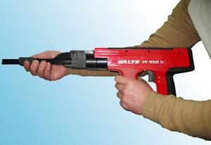 Дюбели и патроны для монтажного пистолета